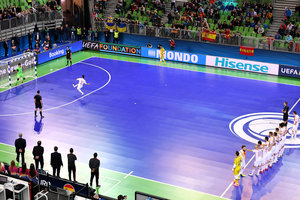 Where to watch the match for third place in the UEFA Futsal Russia - Kazakhstan