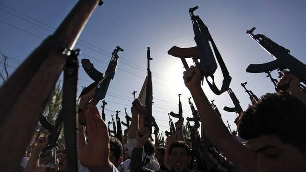 Боевики в Сирии. Фото: AFP