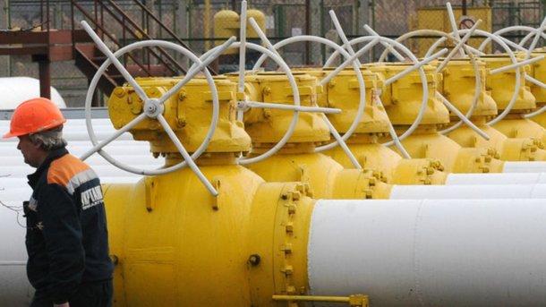 Украина значительно сократила запасы газа вхранилищах