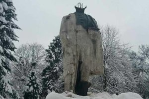 In the Lviv region beheaded the monument to Taras Shevchenko