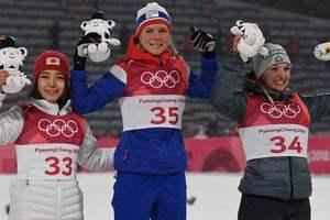 Определились медалистки в женских прыжках с трамплина на Олимпиаде-2018