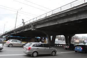 In Kiev will begin repairs on the bridge Shulyavska