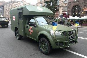 Українські військові отримають модернізовані санітарні