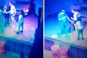 Видеошок: россиянка занялась оральным сексом на сцене ночного клуба за коктейль (18+)