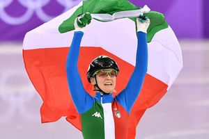 На Олимпиаде-2018 разыграли медали в шорт-треке на дистанции 500 метров