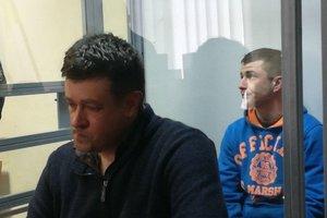 Подозреваемого в убийстве на остановке в Киеве арестовали на два месяца