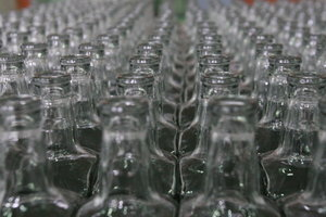 In Kiev covered underground shop on manufacture of counterfeit vodka
