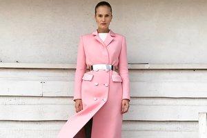 Алла Костромичева открыла показ BEVZA на Неделе моды в Нью-Йорке