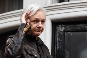 Assange said