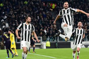 Juventus shocked Tottenham at the start of the Champions League match