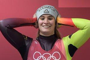 Королева саней: красотка Натали Гайзенбергер стала трехкратной олимпийской чемпионкой