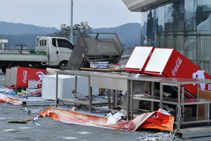 На Олимпиаде в Корее начался ураган: есть пострадавшие, соревнования отменены