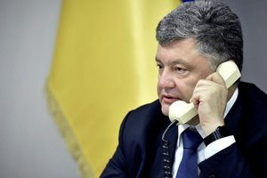 Peskov told about what was on the phone, Poroshenko and Putin