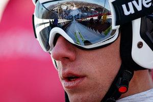 Украинец Виктор Пасичник на шесть позиций улучшил результат в лыжном двоеборье