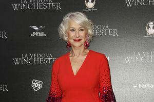В красном платье и на каблуках: 72-летняя Хелен Миррен покорила ярким образом