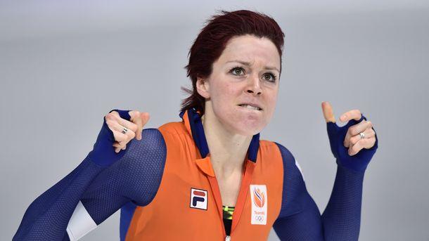 Тер Морс выиграла золотоОИ надистанции тысяча м. Голикова— 22-я