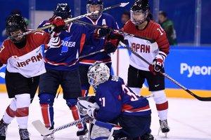 Японки обыграли объединенную команду Кореи в хоккей
