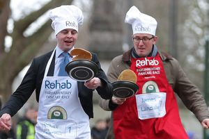 In Britain, policy was running with frying pans