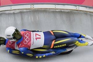 Украинские саночники заняли последнее место в первой попытке в соревнованиях пар
