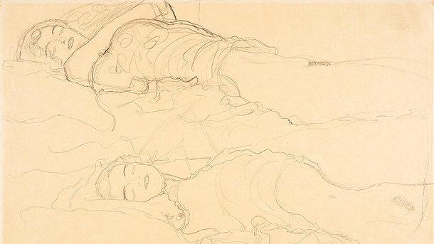 Утерянный рисунок Климта. Фото: orf.at