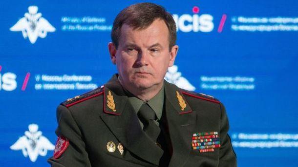 Министр обороны Республики Беларусь  объявил  оготовности отправить миротворцев наДонбасс