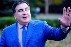 Саакашвили показал в Амстердаме новые документы