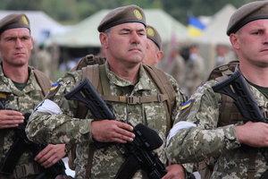 Кабмин утвердил порядок применения оружия армией в АТО в мирное время