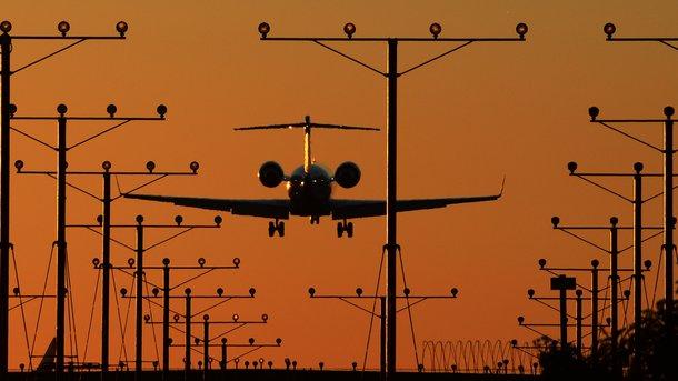 В Запорожье презентовали первый регулярный рейс в Европу