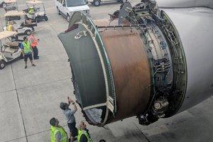 Видеошок: Boeing 777 с пассажирами начал разваливаться над Тихим океаном
