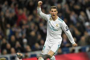 Ronaldo became the first player in history to have scored 100 goals in the Champions League for one club