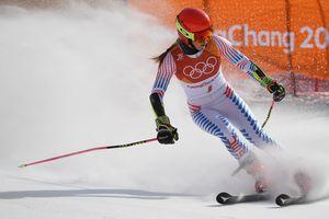 Микаэла Шиффрин стала двукратной чемпионкой в гигантском слаломе, украинка Кныш до финиша не доехала