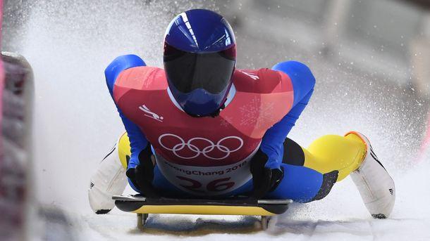 Олимпиада 2018. Украинский скелетонист идет 15-м после 2-х заездов