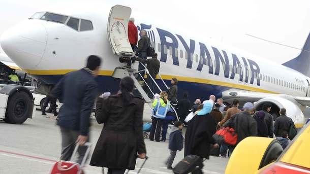 Ryanair придет в Украинское государство осенью