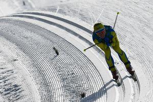 Шестикратная олимпийская чемпионка стала только третьей в лыжной гонке на Олимпиаде-2018