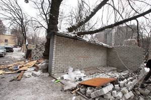In Kiev began the demolition of illegal garages