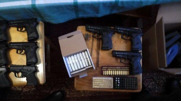 СБУ: ВКиеве схвачен торговец оружием
