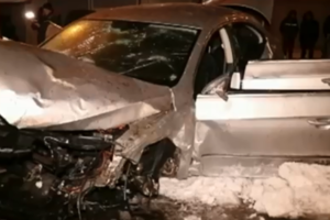 In Kiev, the car turned into a plane, injured three people
