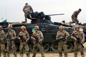 Germany was not ready for NATO military operations - media