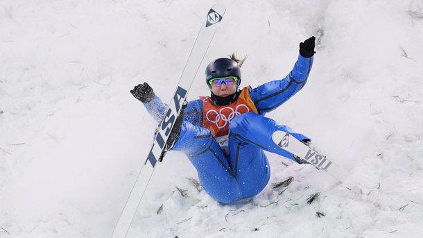 Ольга Полюк не пробилась в финал лыжной акробатики на Олимпиаде-2018
