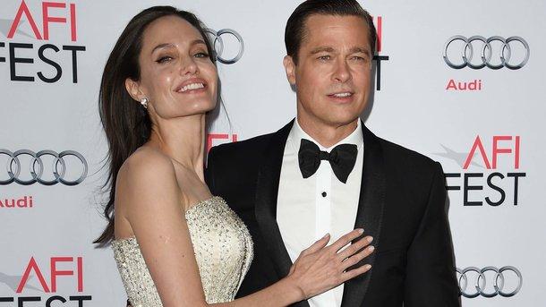 Анджелина Джоли и Брэд Питт. Фото: AFP