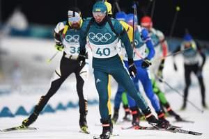 Артем Тищенко стрелял без промахов, но до пьедестала в индивидуальной гонке не добрался