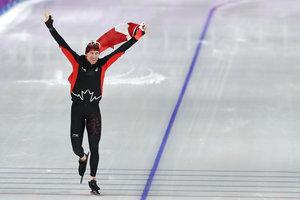Канадський ковзаняр з олімпійським рекордом завоював