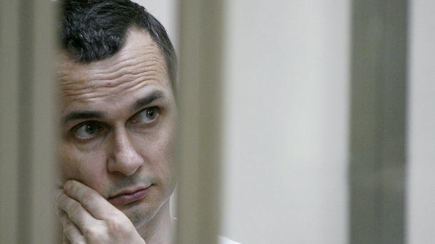 Сенцов впервые позвонил домой из российской тюрьмы