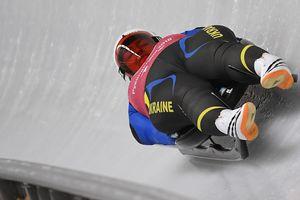 Українські саночники оновили національний рекорд на Олімпіаді-2018