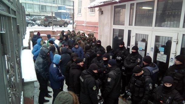 Суд по Труханову и стычки с полицией: появились фото, видео и новые подробности