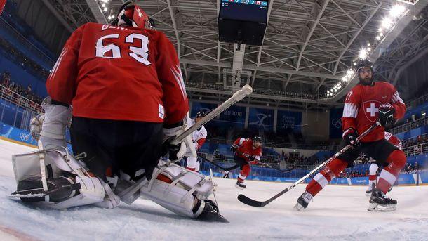 Канада стартовала в олимпийском хоккейном турнире с победы над Швейцарией