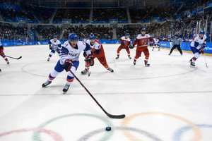 The Czechs beat the hosts of the Olympic games in hockey