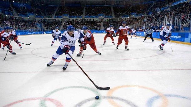 Чехи обыграли хозяев Олимпиады в хоккей