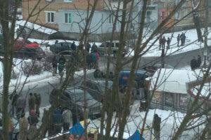 Riots in the Rivne region: five police officers injured