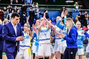 Сборная Украины возглавила рейтинг вторых мест отбора на Евробаскет-2019
